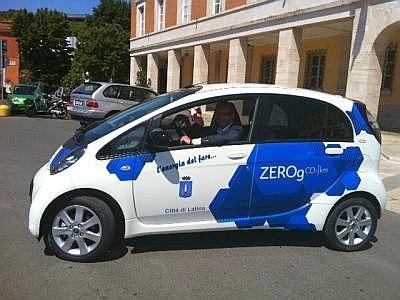 latina_auto_elettrica_sindaco_di_giorgi