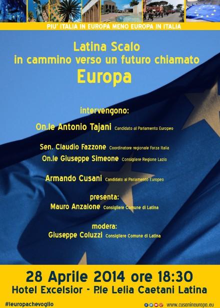 Elezioni europee, Tajani e Cusani a Latina Scalo - Latina