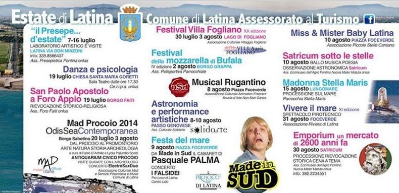 calendario-estate-2014-latina-eventi