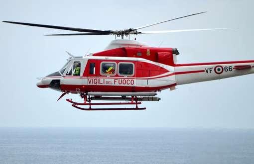 elicottero vigili del fuoco