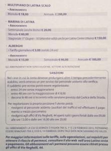 tariffe-parcheggi-latina-2015-abbonamenti