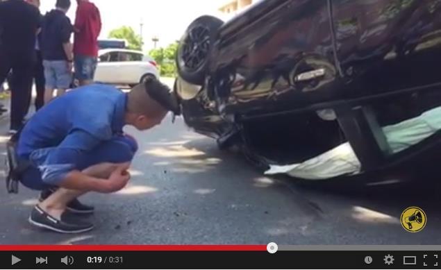 auto-ribaltata-latina-video-incidente