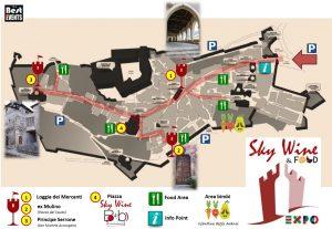 mappa evento