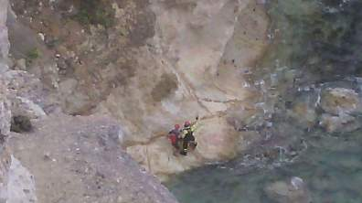 vigili-fuoco-ponza-salvataggio-rocciatore