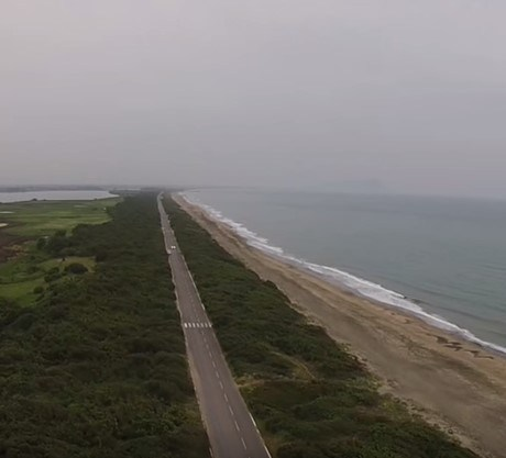 latina-mare-lago-duna-lungomare-drone-video
