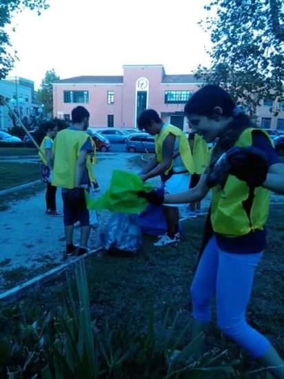 pulizia-parco-piazza-dante-latina
