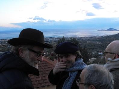 De Gregori Sparagna e il Sindaco sul belvedere