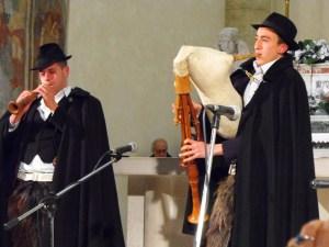esibizione Silvio Forte e Giuliano De Meo