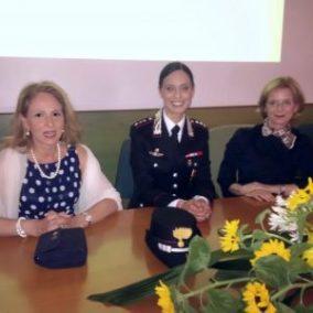 """Clara Balsano, premiata per la ricerca scientifica, Margherita Anzini e Anna Maria Tosto, per il premio """"Donna dello Stato e per lo Stato"""""""