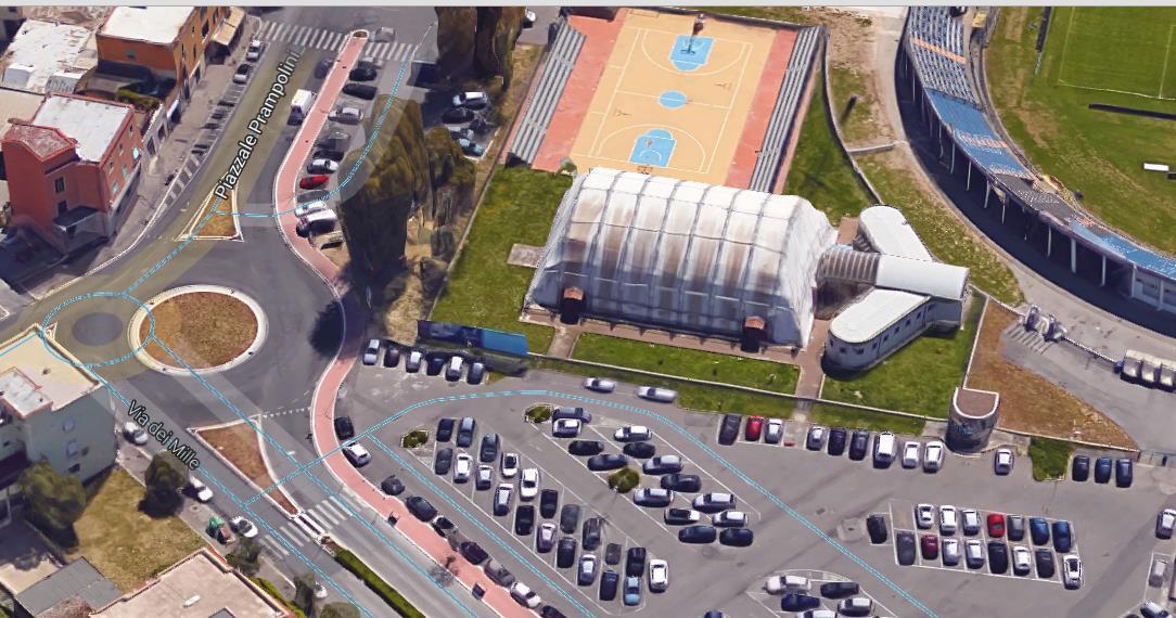 via-dei-mille-latina-pallone-parcheggio