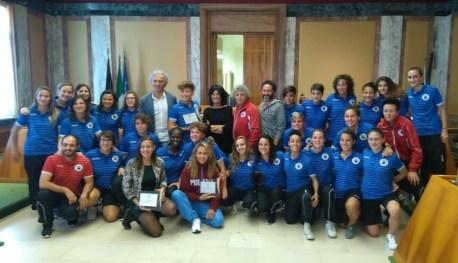 latina-atlete-premiate-sindaco-coletta