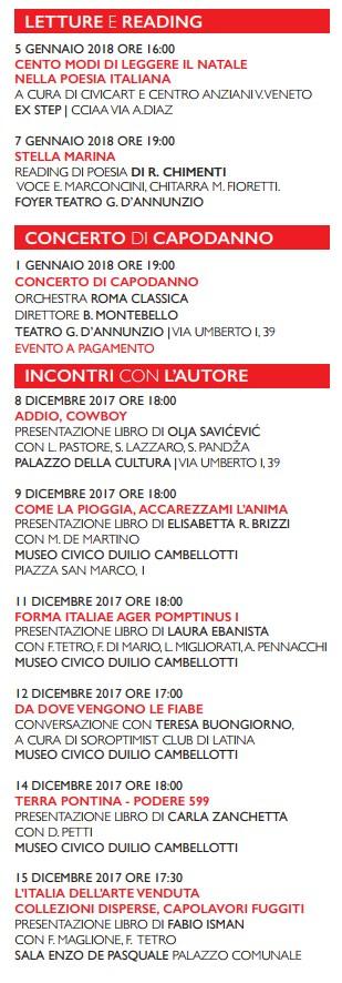 Poesie Di Natale Venete.Latina Natale 2017 3 Latina 24ore It