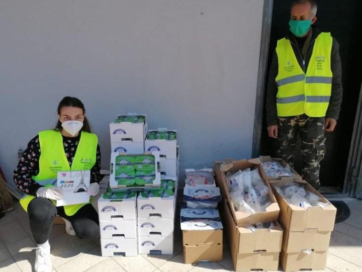 cibo-protezione-civile-latina