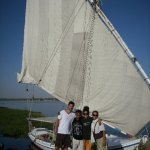 June 25th in history, felucca ride friends