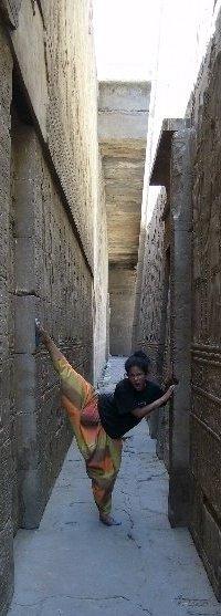 Pharaonic temple Esna Egypt