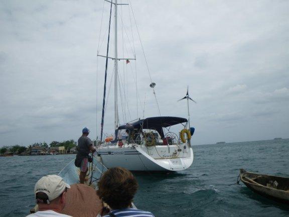 Panama adventures, sailing Andiamo