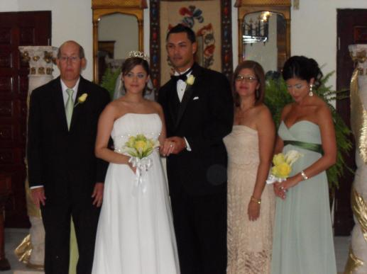 a Puerto Rican wedding