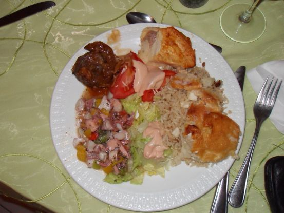 Puerto Rican wedding food