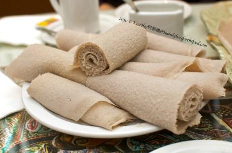 Ethiopian food, injera bread