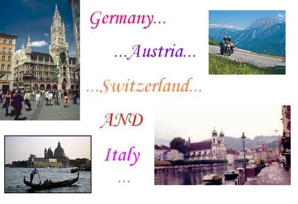 Europe trip 2005