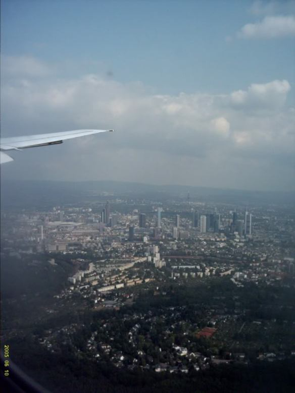 Europe 2005, Frankfurt flight