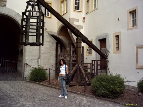 Europe 2005, outside Kriminal Museum