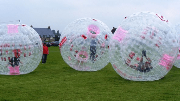 Travel bucket list, zorbing