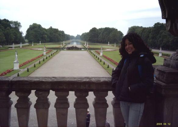 Euro Trip, Munich palace garden