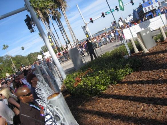 The Invasion parade, Tampa FL