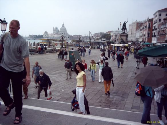 my trip to Europe, Venice arrival 2