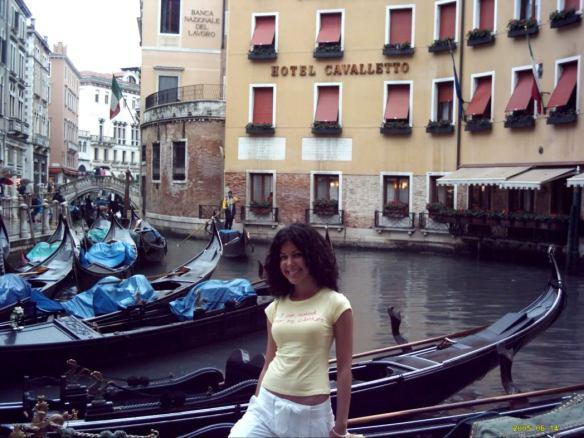 Euro trip, Venice gondolas
