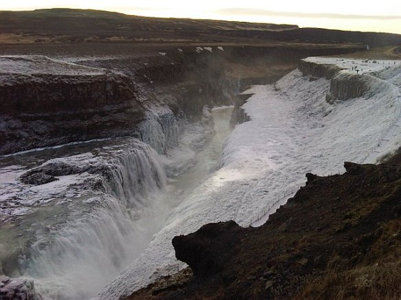 Gullfoss Iceland waterfall photos
