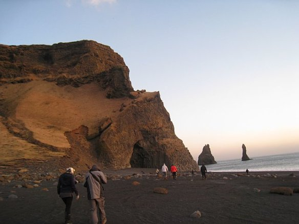 Vik Iceland beach formations