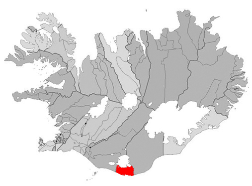 On the map: Vik, Iceland