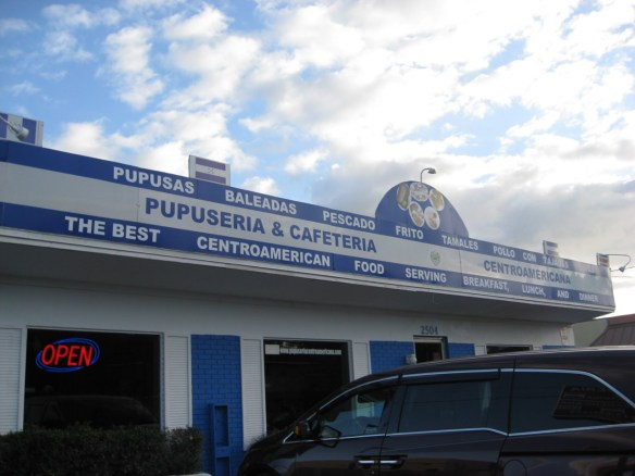 pupuseria in Tampa and Central American restaurant
