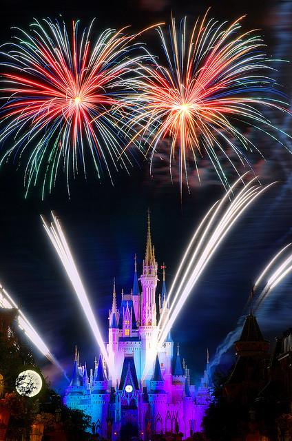 travel bucket list, Disney World fireworks