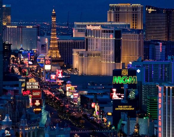 travel bucket list, Vegas strip