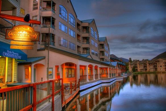 Keystone Colorado summer town