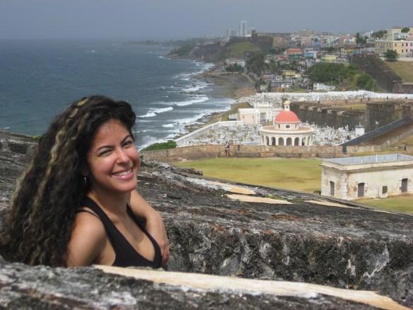 El Morro view, Puerto Rico random facts