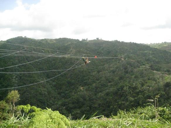 Zip line videos Toro Verde Puerto Rico