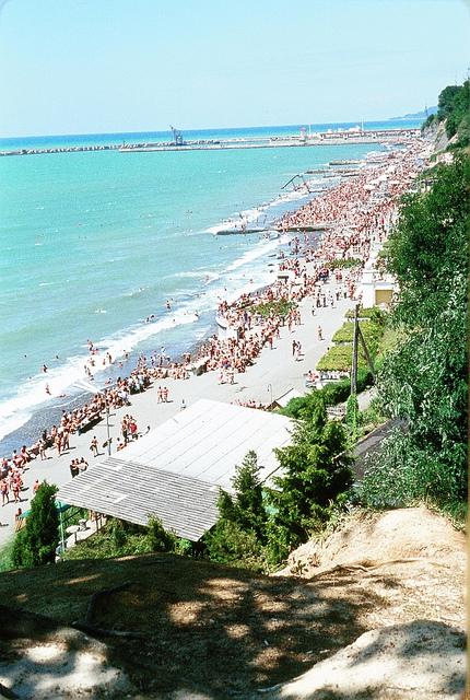 Sochi Russia weather, beach