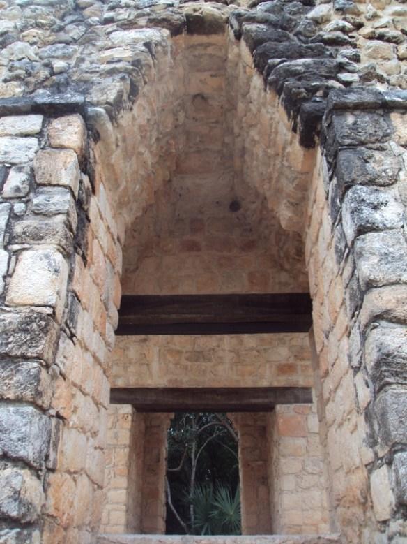 Ek Balam Mayan ruins, doorway