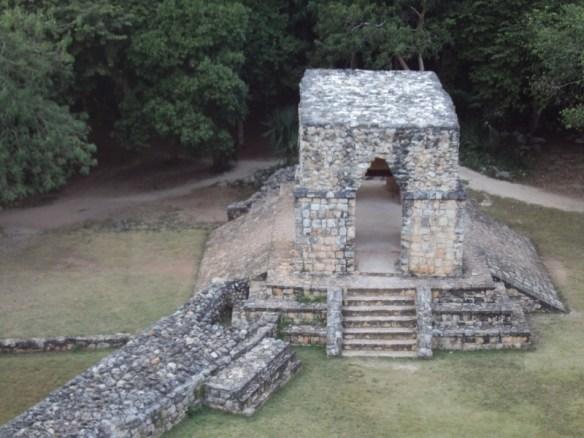 Ek Balam Mayan arch
