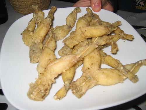 fried frog legs recipe