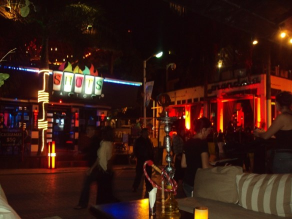 Playa Del Carmen nightclubs review, Kartabar view