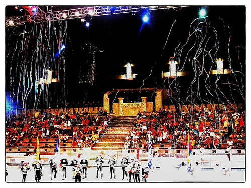 Xcaret night show, things to do in Playa Del Carmen