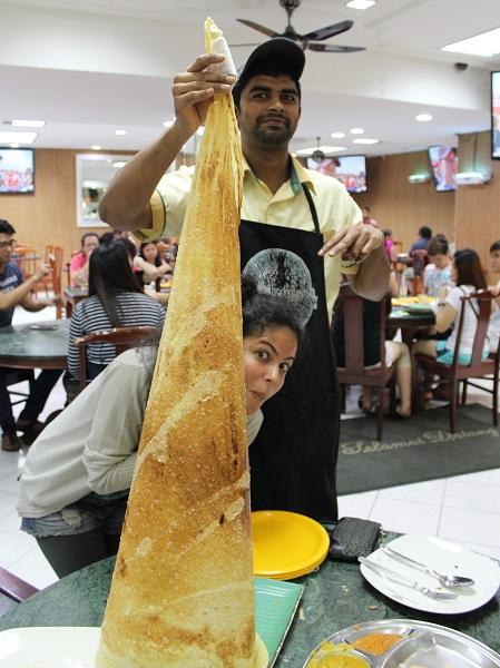 roti tisu, Malaysia foodie guide