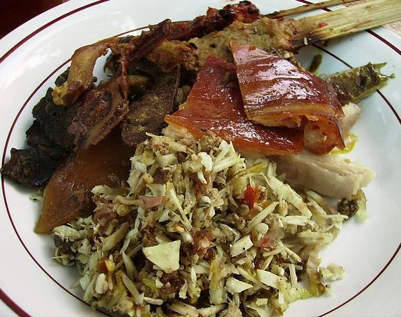 local cuisine in Amed, Bali