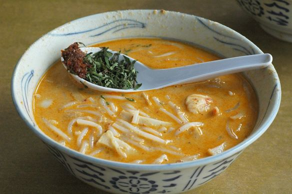 Katong Laksa, Singapore Cuisine
