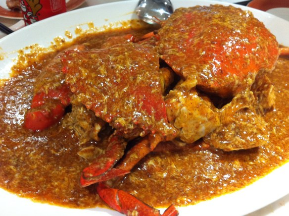 chili crab, Singapore seafood
